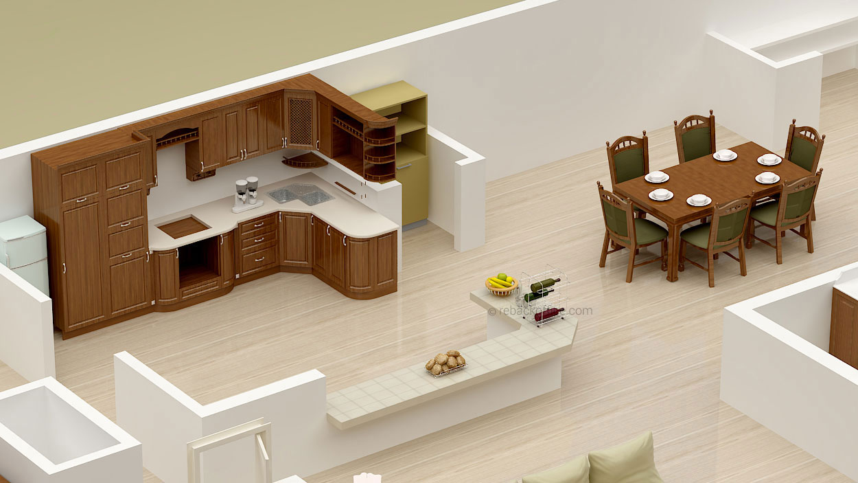Rebackoffice 3D Floor Plans 02