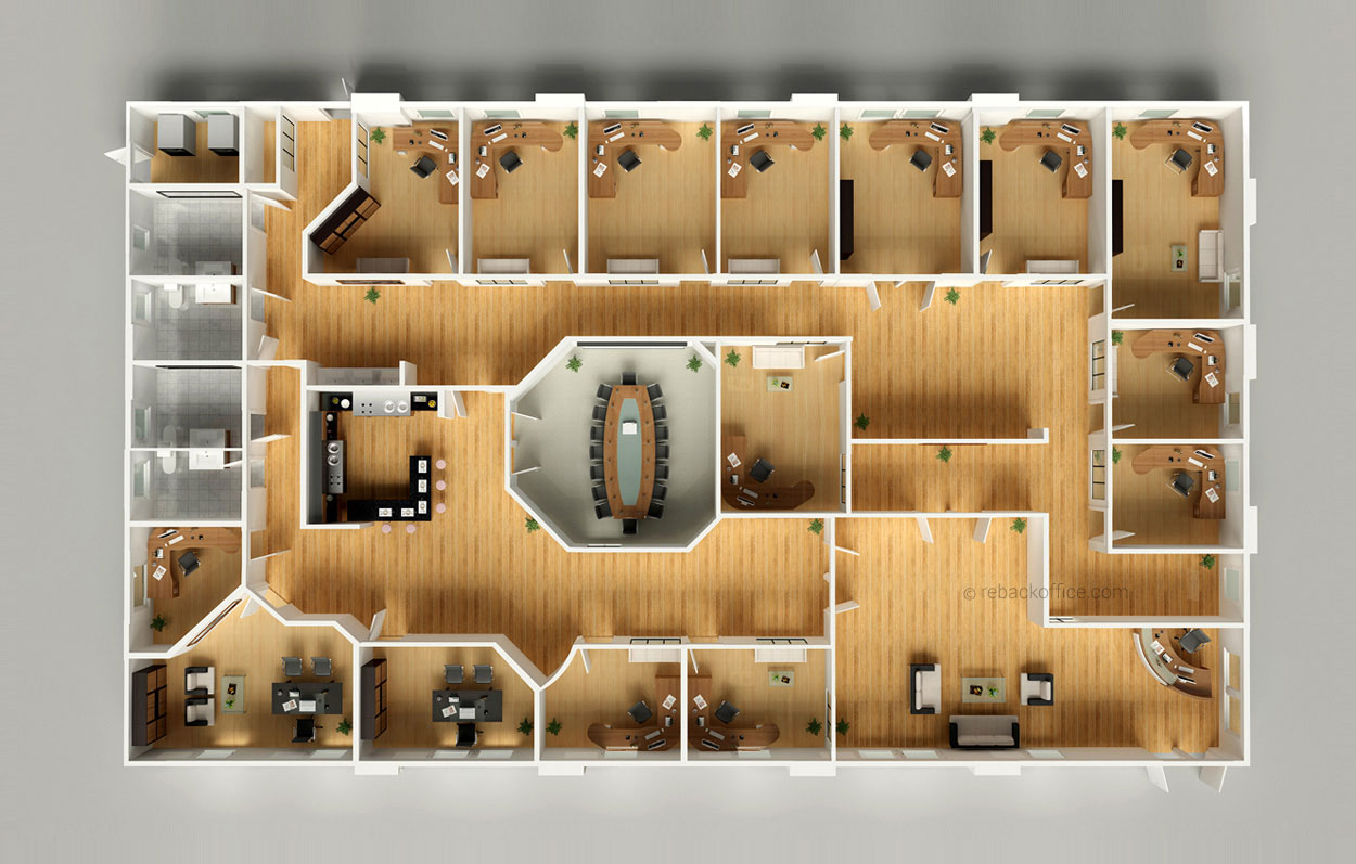 3d floor plans 03 rebackoffice for 3d floor plan design